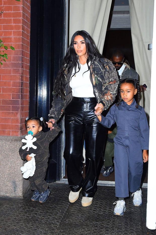 Kim Kardashian, North West, Chicago West