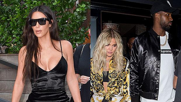 Kim Kardashian, Khloe Kardashian, Tristan Thompson
