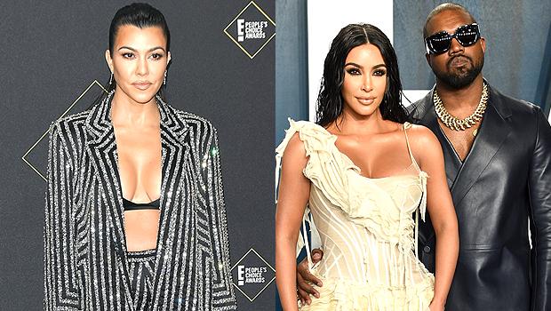 Kourtney Kardashian, Kim Kardashian, Kanye West