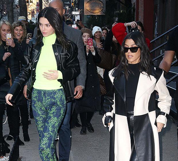 Kourtney Kardashian and Kendall Jenner