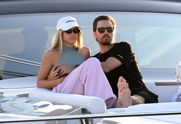 Kourtney Kardashian Scott Disick Vacationing Together