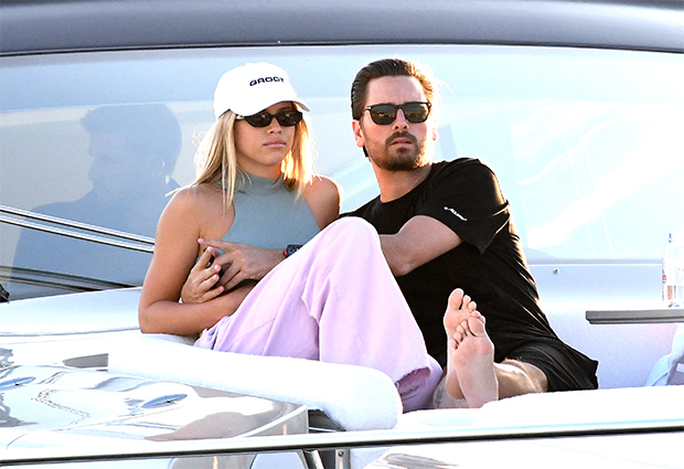 Scott Disick & Sofia Richie in Miami