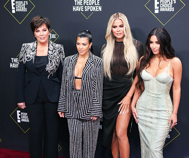 kardashians people choice awards