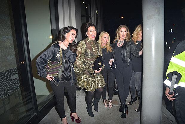 Kris Jenner, Kyle Richards, Kim Richards