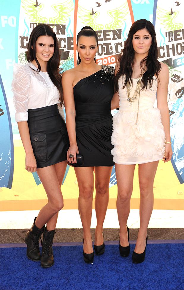 Kendall and Kylie Jenner, Kim Kardashian