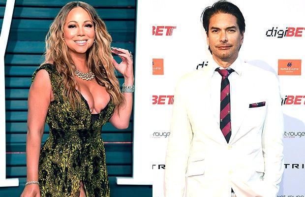 Mariah Carey & Marcus Schenkenberg