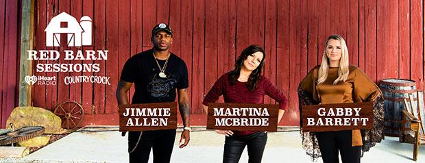Jimmie Allen, Martina McBride & Gabby Barrett for Country Crock