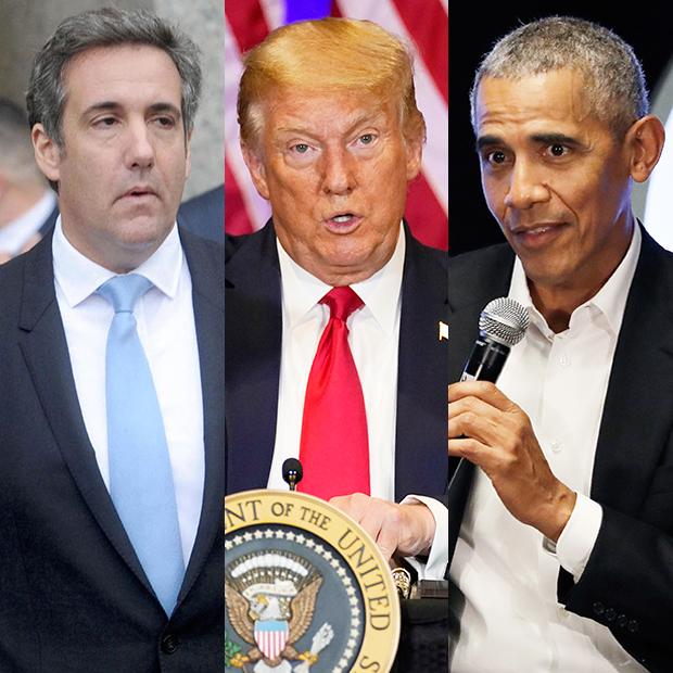 Michael Cohen Donald Trump Barack Obama