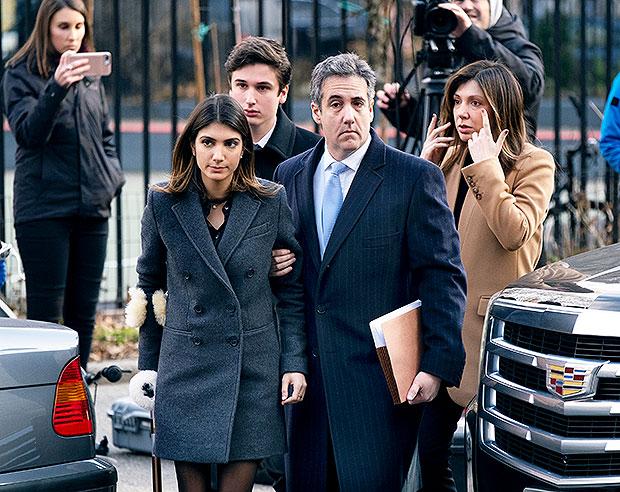 Michael Cohen & Daughter Samantha