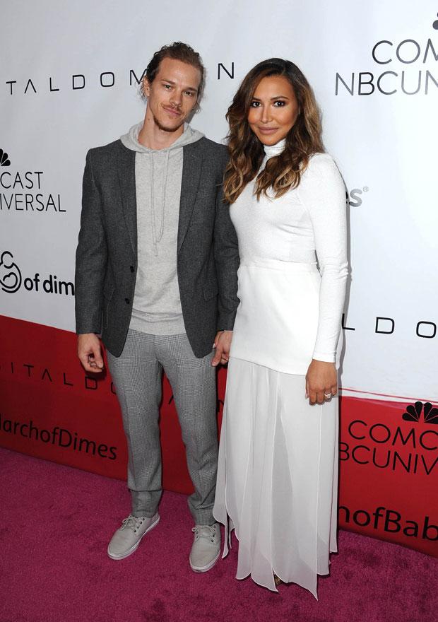 Ryan Dorsey and Naya Rivera