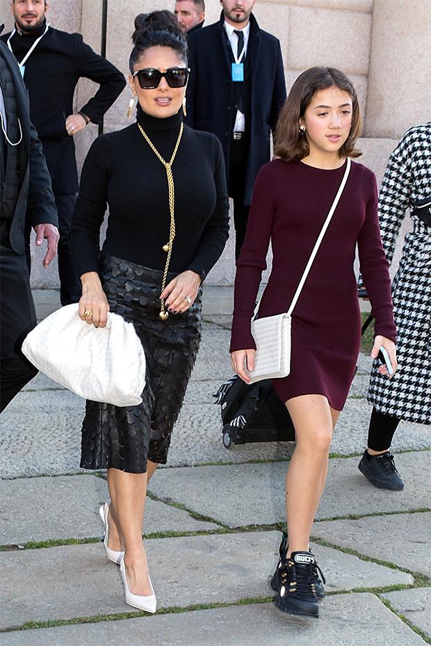 Salma Hayek & daughter Valentina