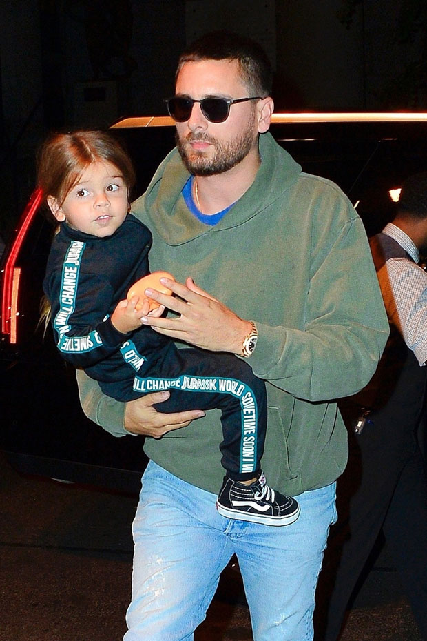 Scott and Reign Disick
