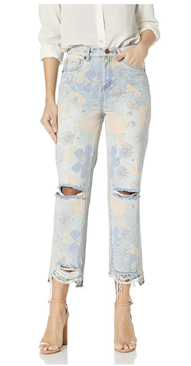 Blank NYC Flower Jeans