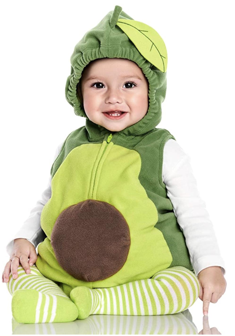 baby avocado costume