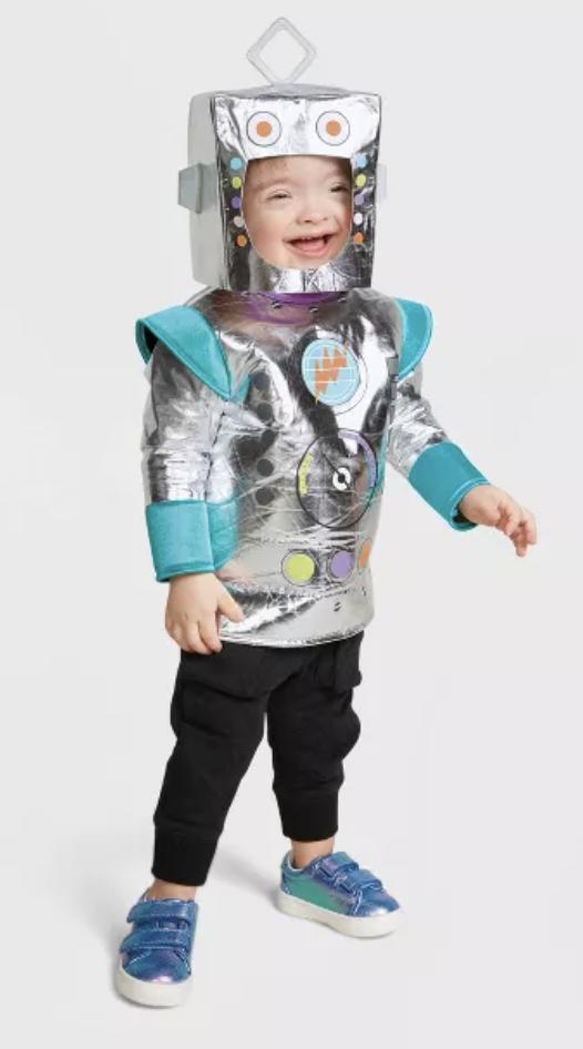 baby robot costume