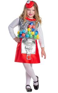 Girls Gumball Costume