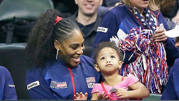 Serena Williams & Daughter Olympia