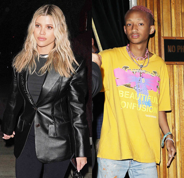 Sofia Richie & Jaden Smith