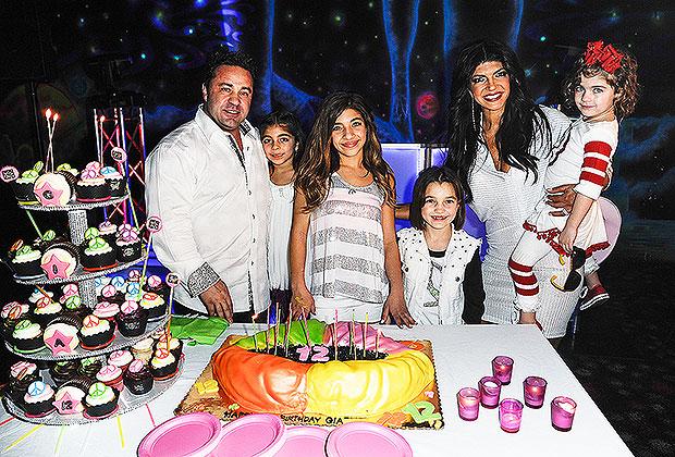 Joe and Teresa Giudice and kids