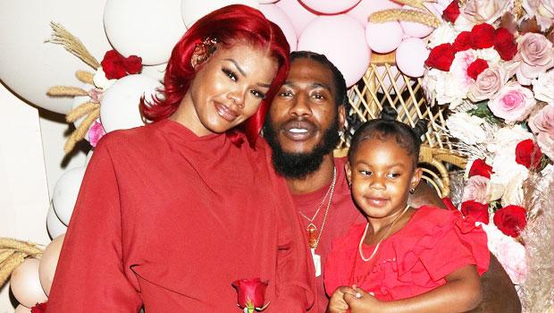 Teyana Taylor & Family