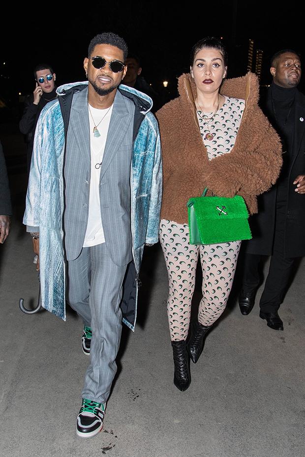 Usher & Jenn Goicoechea