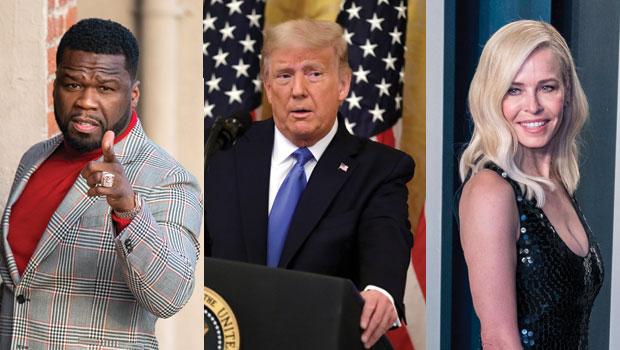 50 Cent, Donald Trump, Chelsea Handler