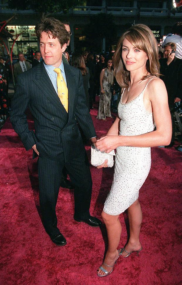Hugh Grant, Elizabeth Hurley