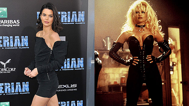 Kendall Jenner Recreates Pamela Anderson's Look From 'Barb Wire' For Super Sexy Halloween Costume