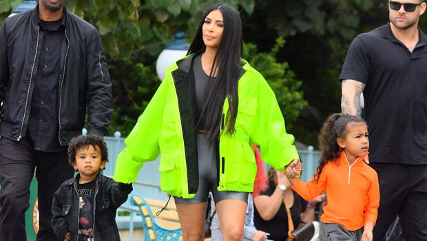 Kim Kardashian Debuts 1st Halloween Look Of 2020: Carole Baskin With Her Kids As Tigers