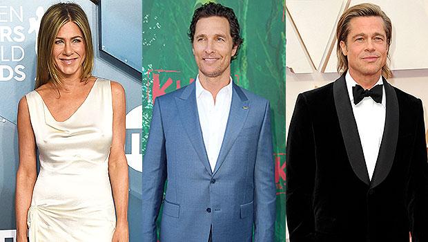 Matthew McConaughey Jokes About Jennifer Aniston & Brad Pitt's 'Sexual Tension' During Reunion