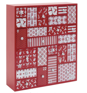 Wooden Family Advent Calendar