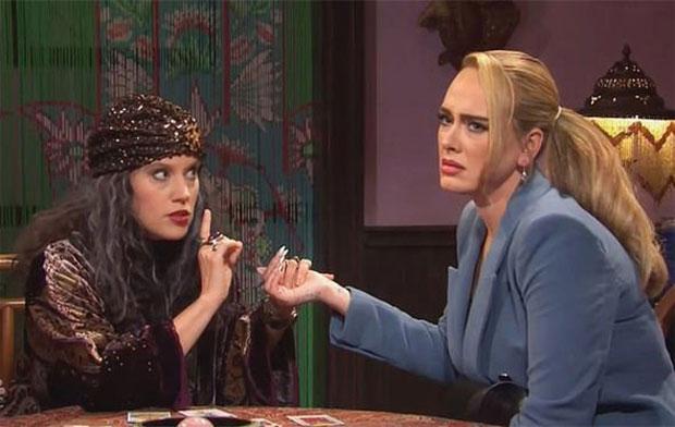 Adele & Kate McKinnon