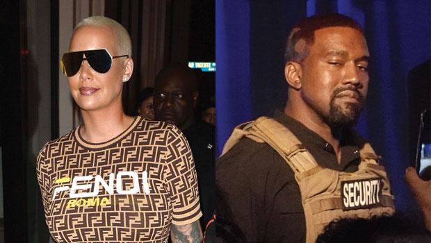 Amber Rose Compares Kanye West Donald Trump