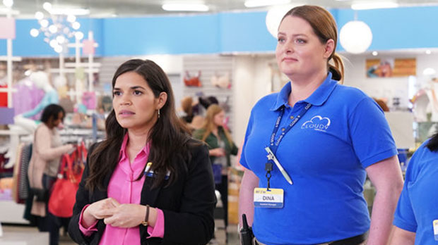 Amy & Dina in 'Superstore'