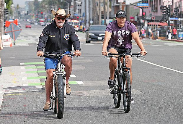 Arnold Schwarzenegger, Joseph Baena