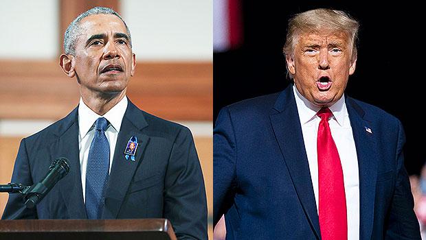 Barack Obama, Donald Trump