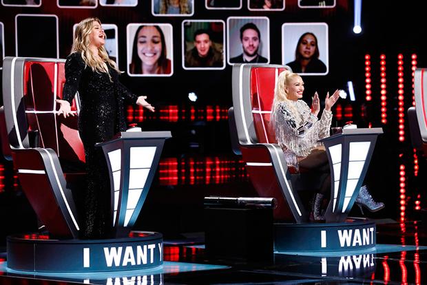 Kelly Clarkson Gwen Stefani