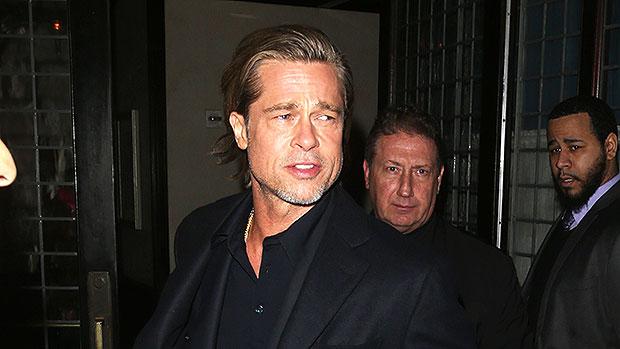 Brad Pitt Kids Overnight For The Holidays