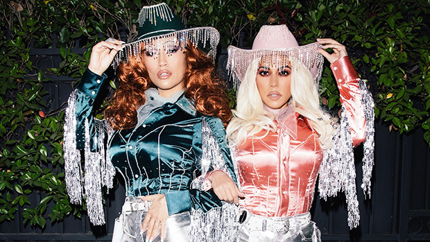 Vanessa Hudgens, Kourtney Kardashian & More Celebs Dress Up For Halloween — See Pics