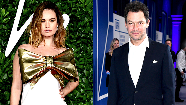 Dominic West, Lily James