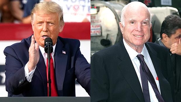 Donald Trump, John McCain