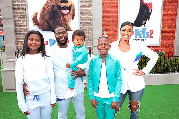 Kevin Hart family