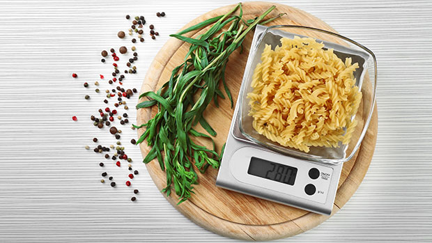 Get Your Diet Goals On Track With A 5-Star Rated Food Scale That'll Take Up Zero Space