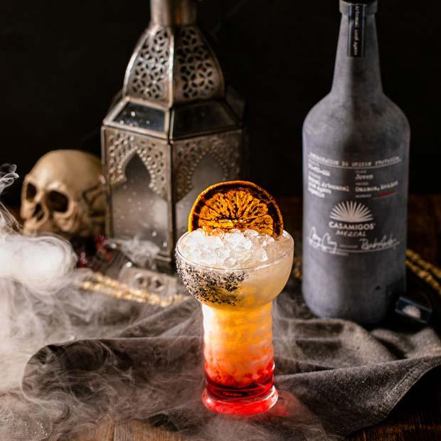 Smoky Halloween Colada