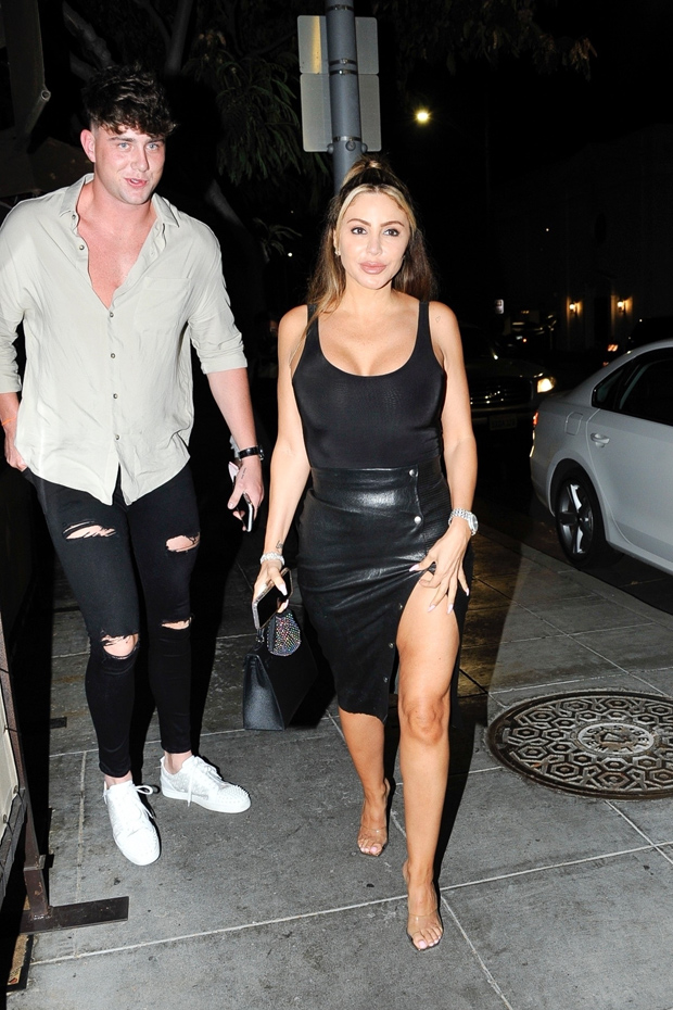 Harry Jowsey & Larsa Pippen in Beverly Hills