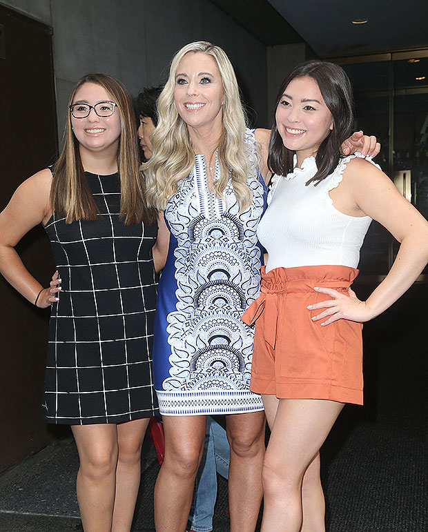 Kate Gosselin and daughters