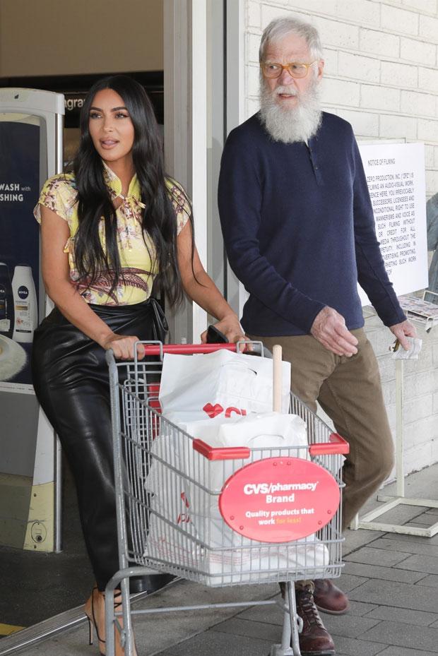 Kim Kardashian, David Letterman