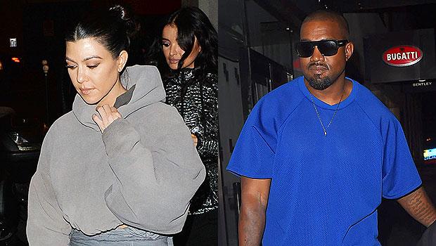 Kourtney Kardashian, Kanye West