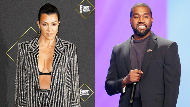Kourtney Kardashian Kanye West