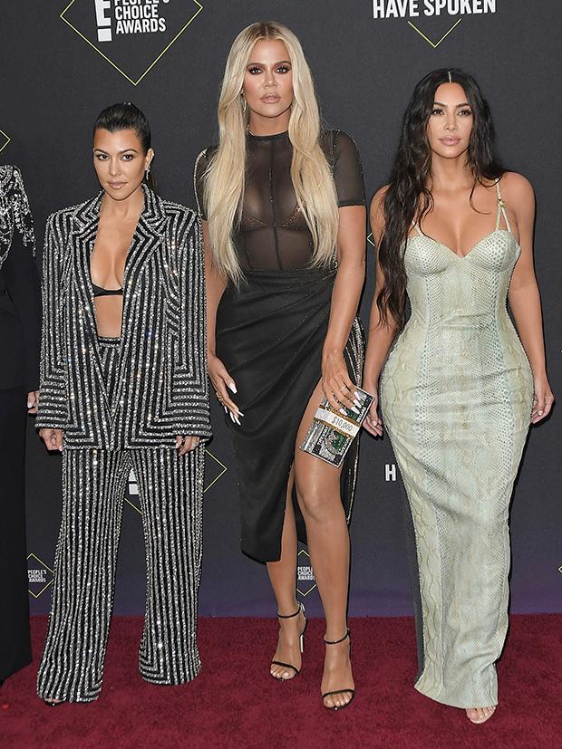 Kourtney Kardashian, Khloe Kardashian, Kim Kardashian